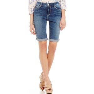 NYDJ | Brielle Roll-Cuff Bermuda Jean Shorts